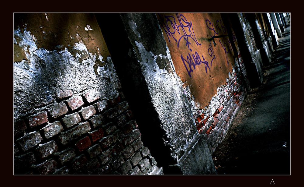 la Luce dei Muri