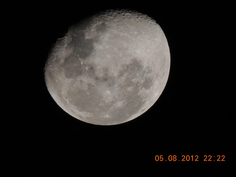 La luna....
