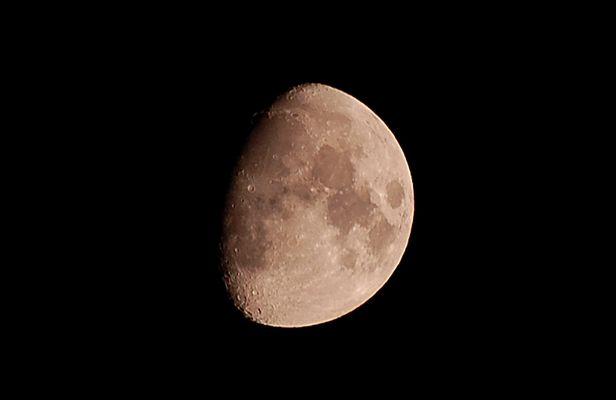 La luna dal mio terrazzo