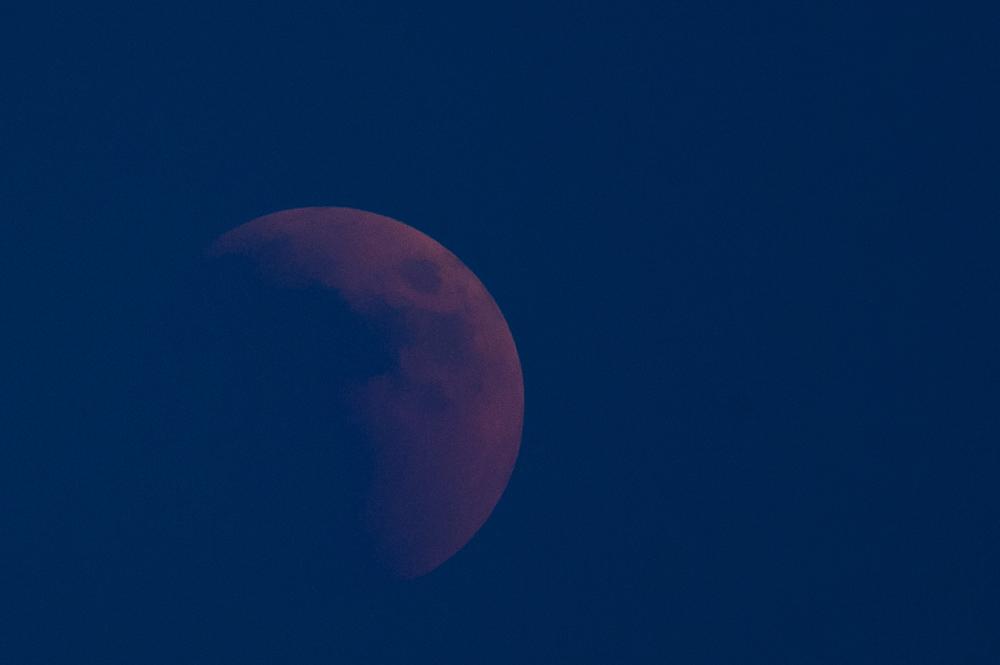 la Luna - die Mondfinsternis