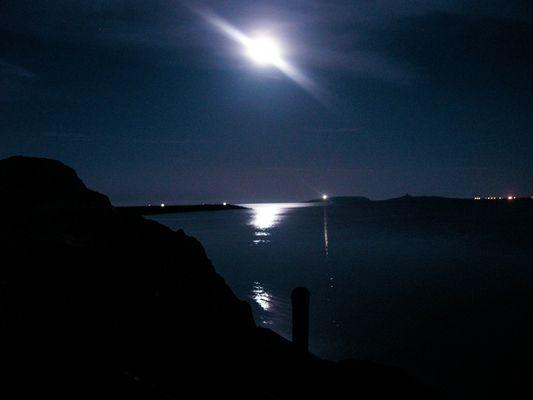 La luna ed il faro