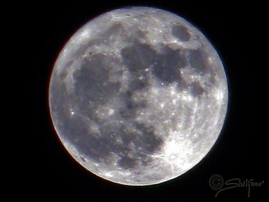 la luna gigante del 19 marzo 2011