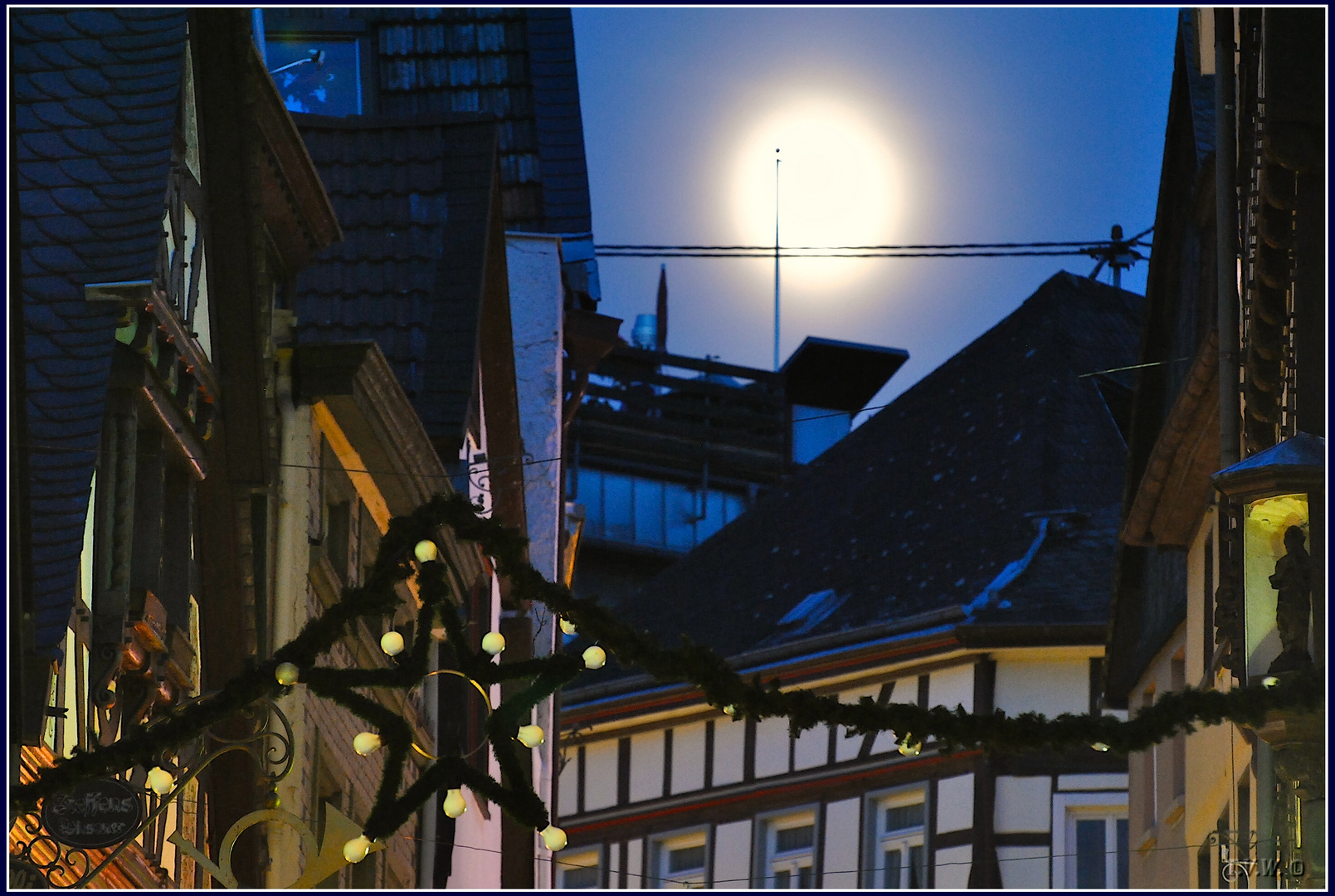 La Luna über Linz a.R.