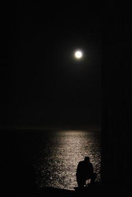 La luna y el hombre