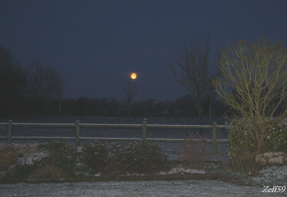 La lune!