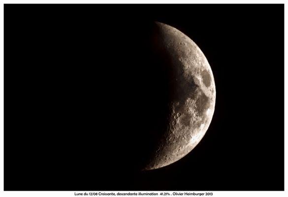 La lune du 12-08-2013 Essai avec Sigma 150-500mm + doubleur x2