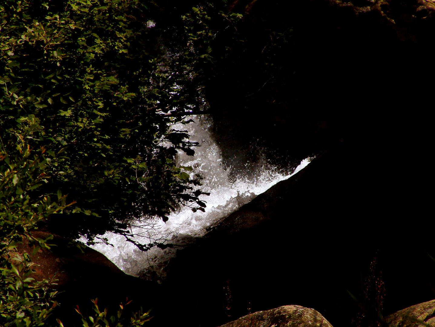 La luz del agua