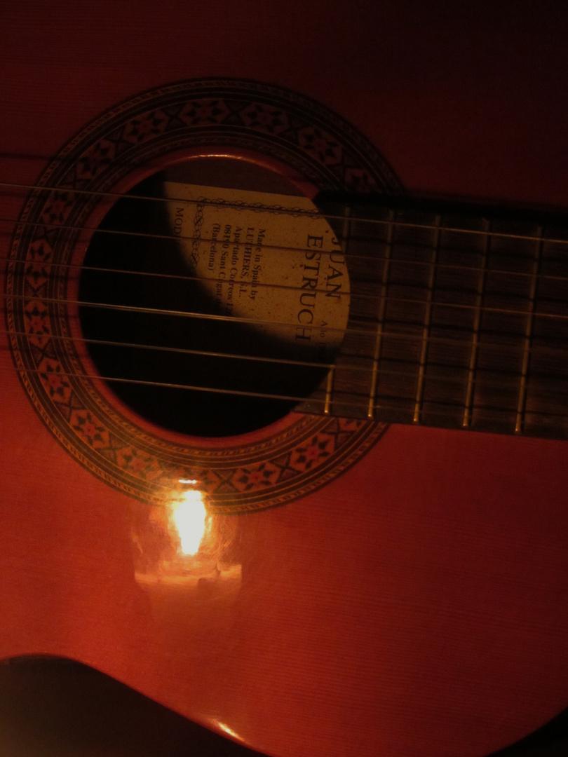 ''La luz del sonido''..,la música' 'Para el proyecto ''Enciende una vela''