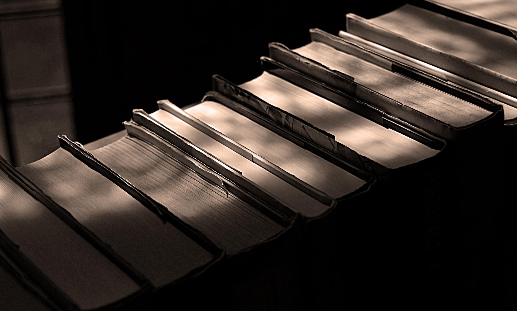 La luz en los libros