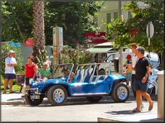 La macchina azzurra...in memoria della estate.!