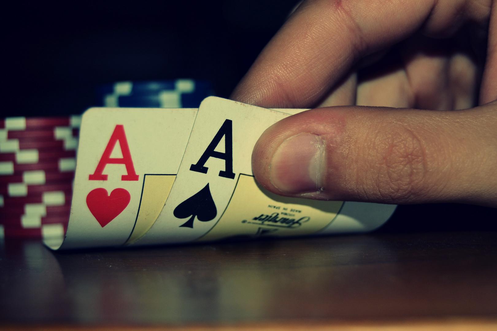 La magia del poker.