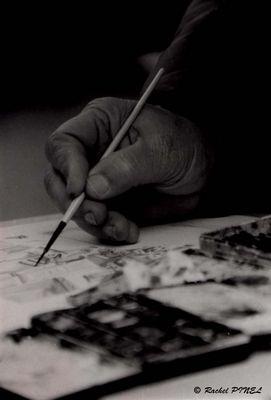 La main du peintre
