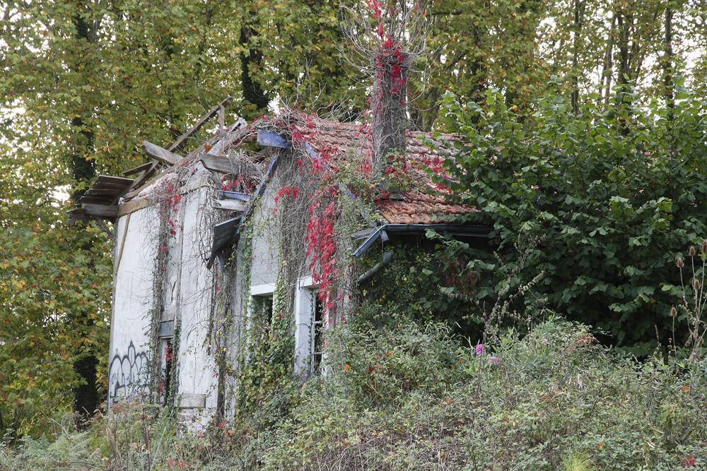 la maison abandonnée !!!