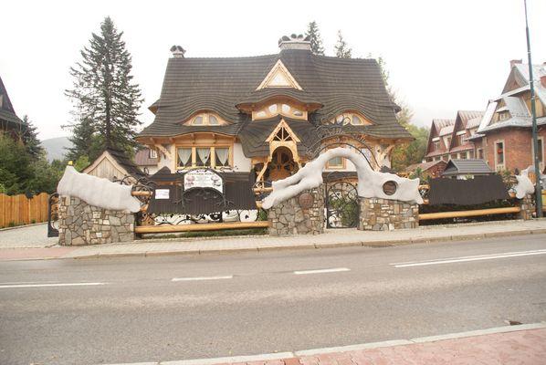 la maison de Blanche Neige