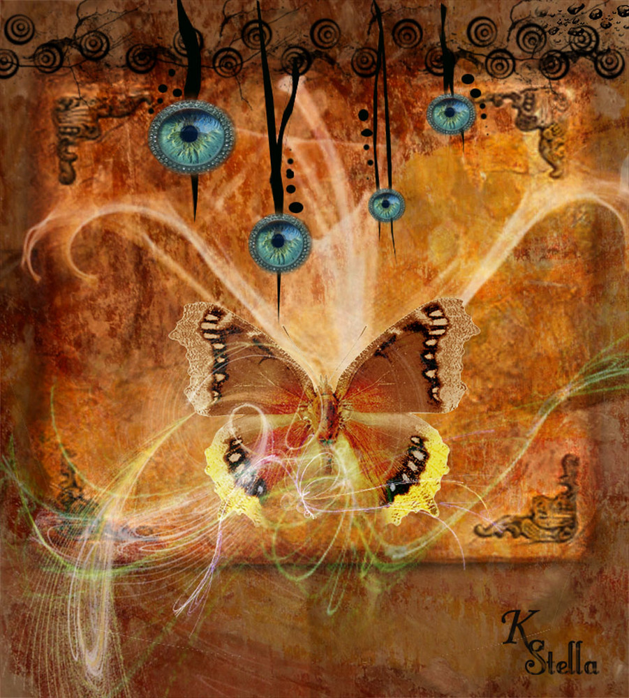 La mariposa iluminada