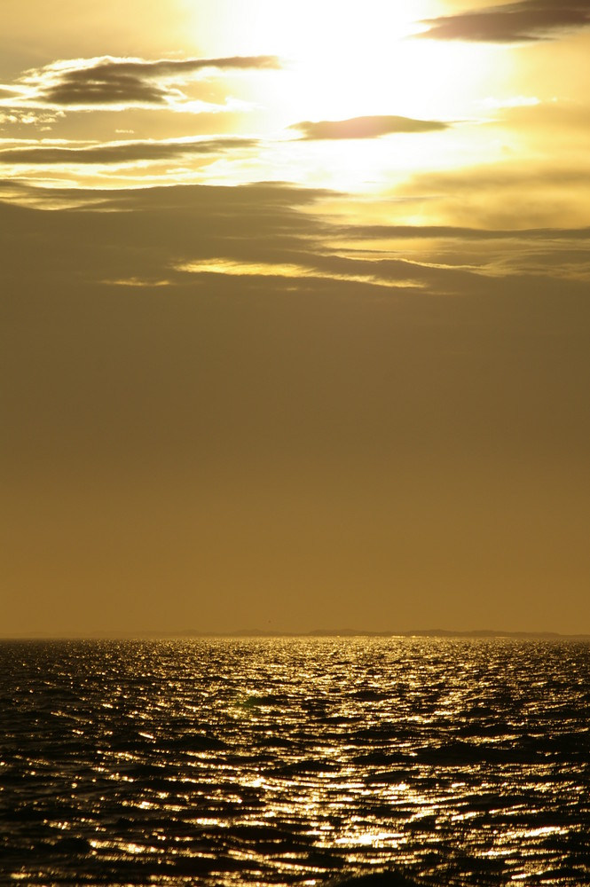 La mer...