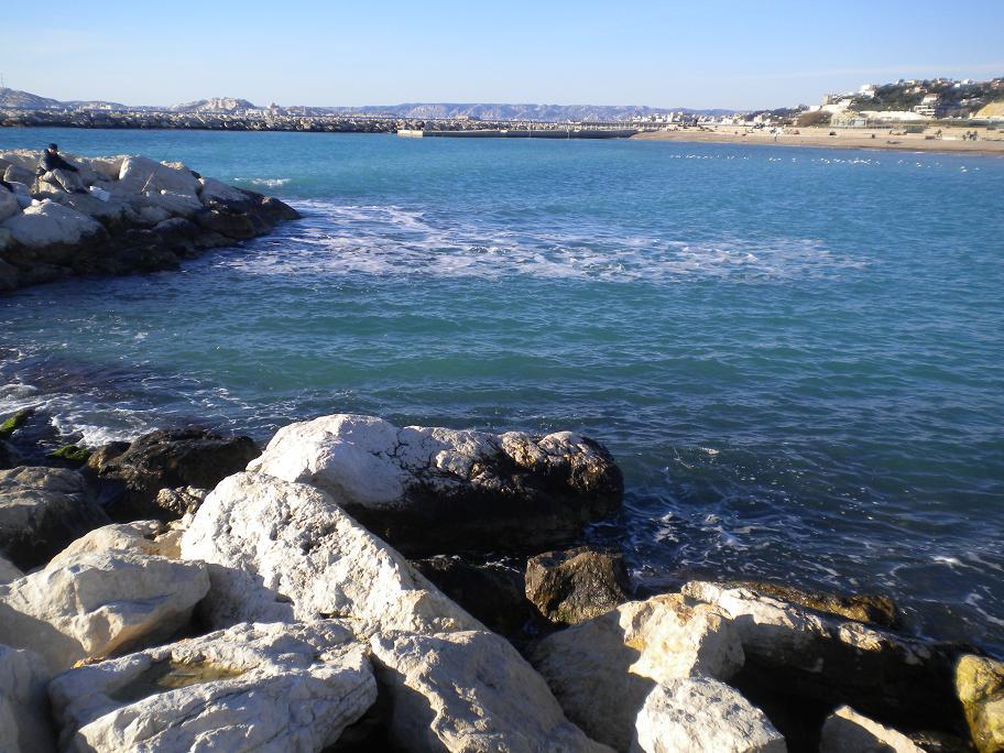 La mer à Marseille