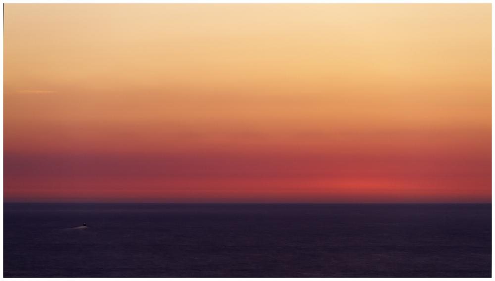 La mer - après le coucher du soleil