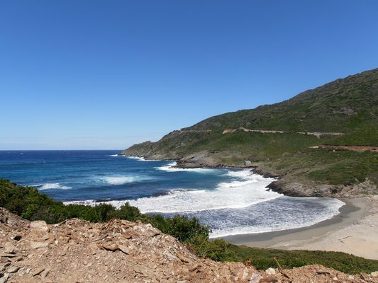 La mer au cap Corse