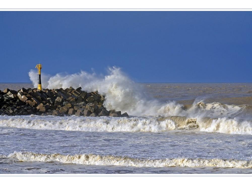 la mer.... au lendemain de la tempête