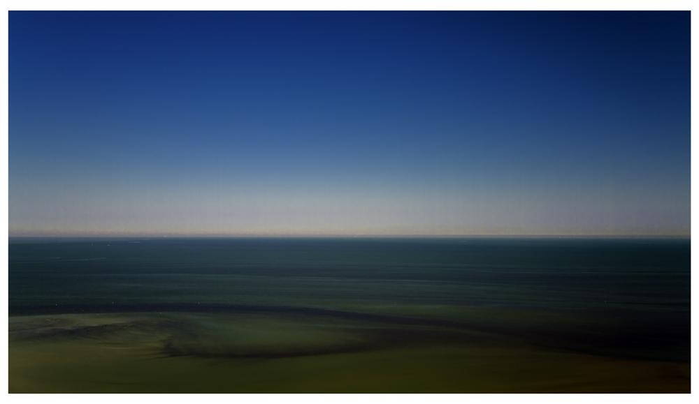 la mer dans la matinée