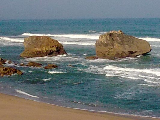 la mer de biarritz