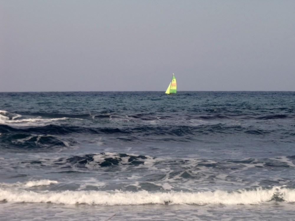 La mer douceur d'une vague