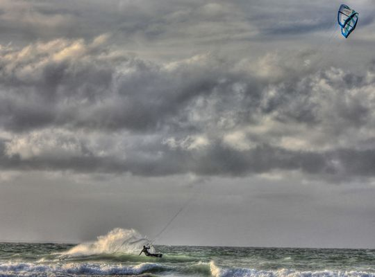 La mer du nord mon bonheur...