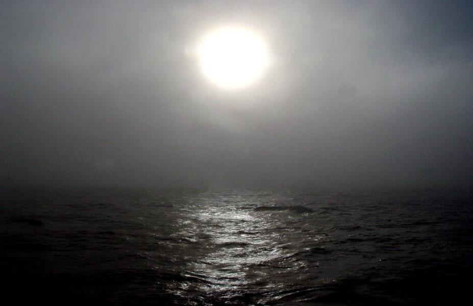 La Mer en Brouillard