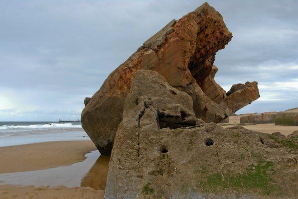 La mer est la plus forte - Capbreton plage sud