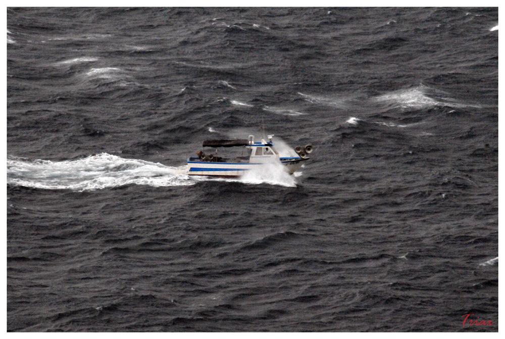 La mer, le bateau, les marins