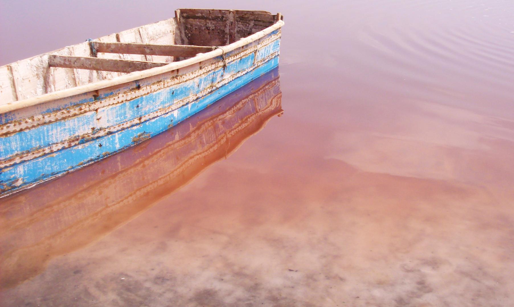 La mer rose, the pink sea