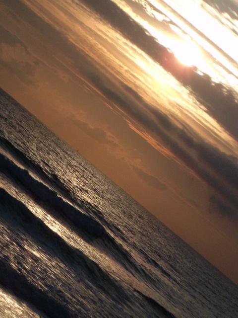 la mer, un lit de lumière