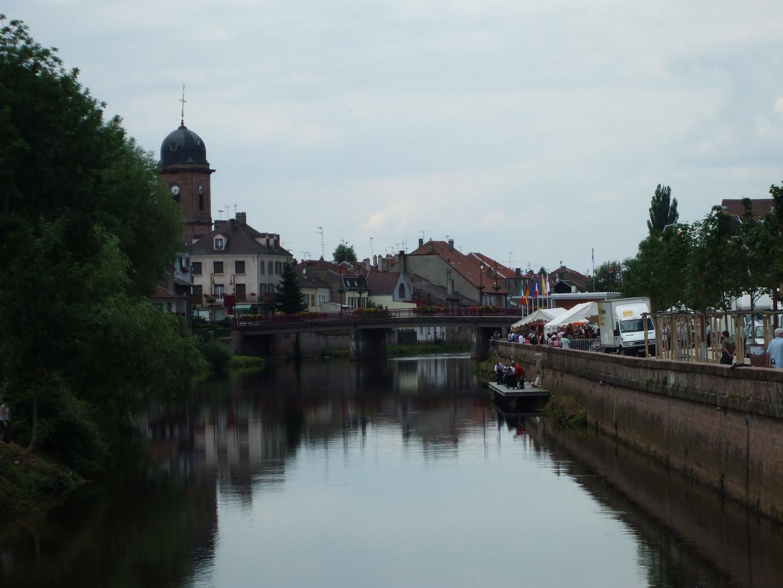 La Meurthe à Raon l'Etape