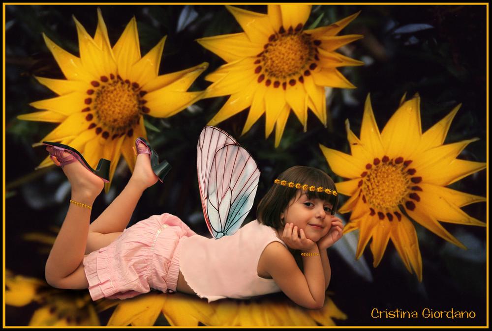 la mia farfalla...