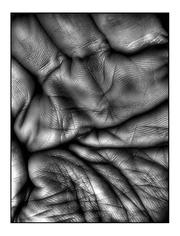 la mia mano