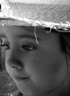 La mirada tierna de un niño