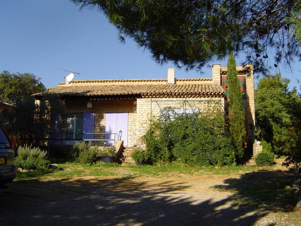 La mla casa in Vaucluse, parco del Luberon