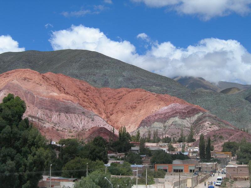 la montagna dei setti colori
