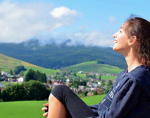 """""""la montagna insegna a vivere...."""
