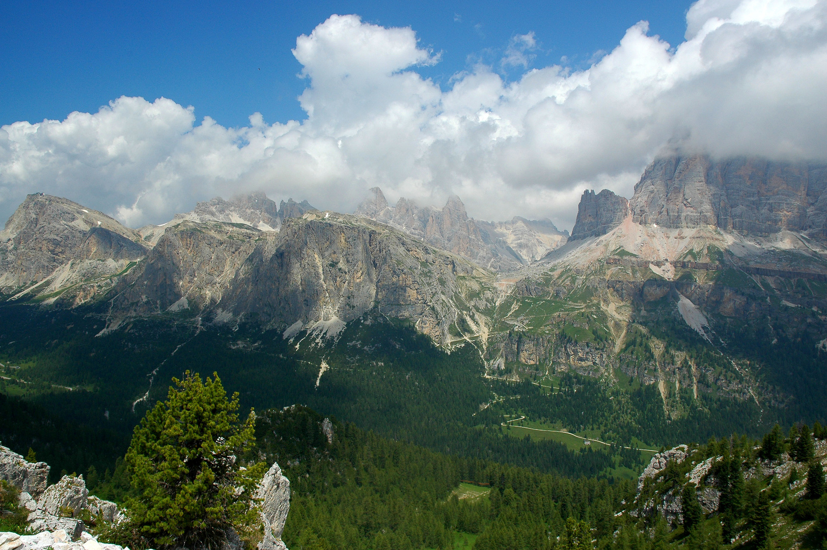 La montagne dans toute sa splendeur.
