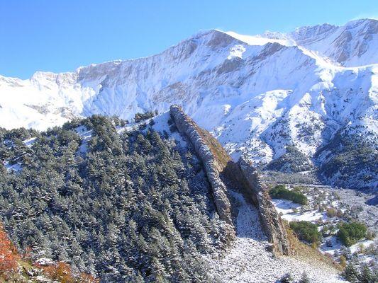 La montagne ds toute sa splendeur