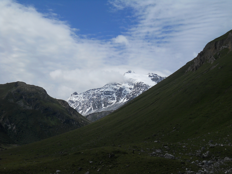 la montagne enneigé en juillet !!
