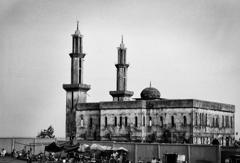 La moschea di Gbessia - Aeroport
