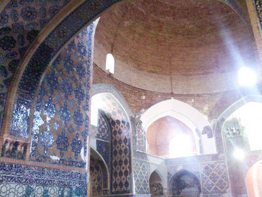 La mosquée bleue de Tabriz