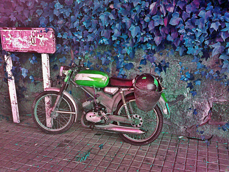 La moto del abuelo