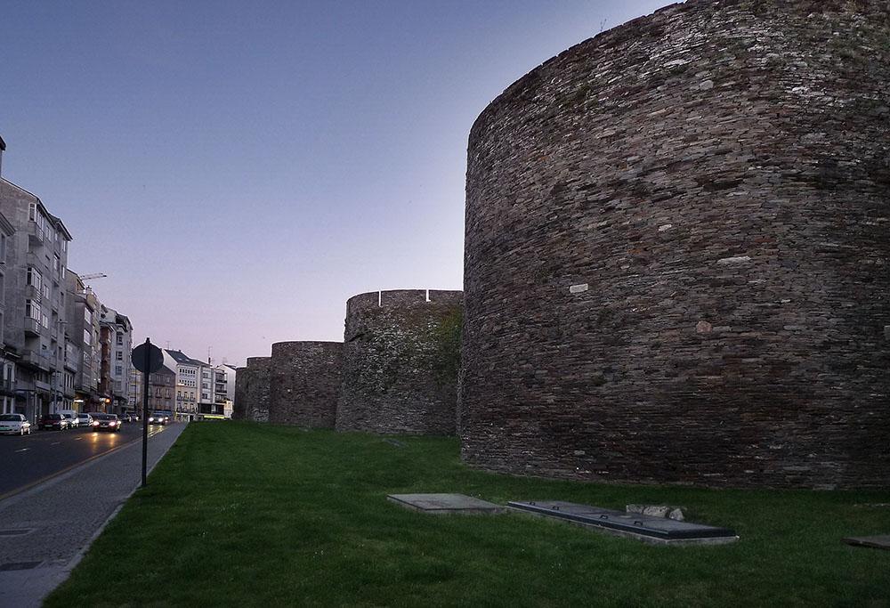 La muralla romana