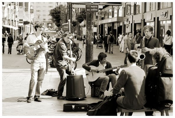 La musique dans la rue