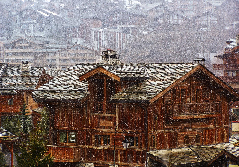 La neige en mai 2009