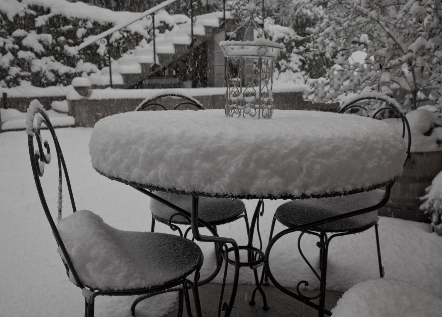 la neige sur la cote d azur
